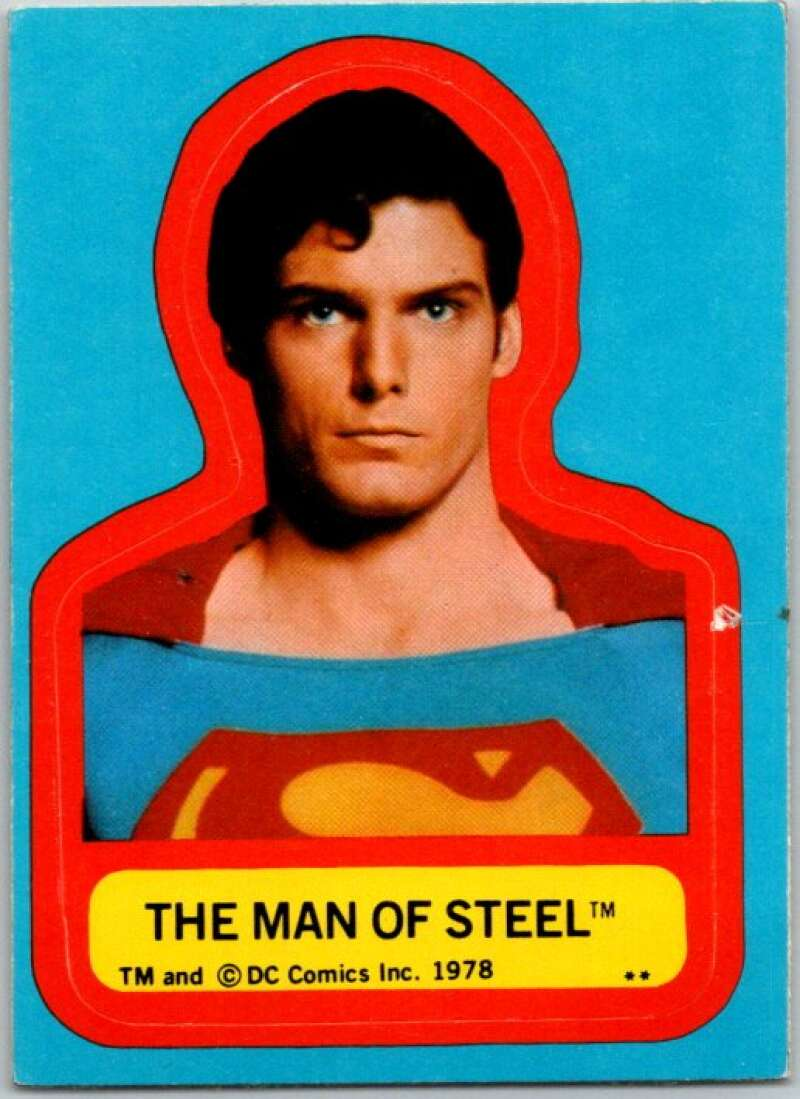 1978 Topps Superman Stickers