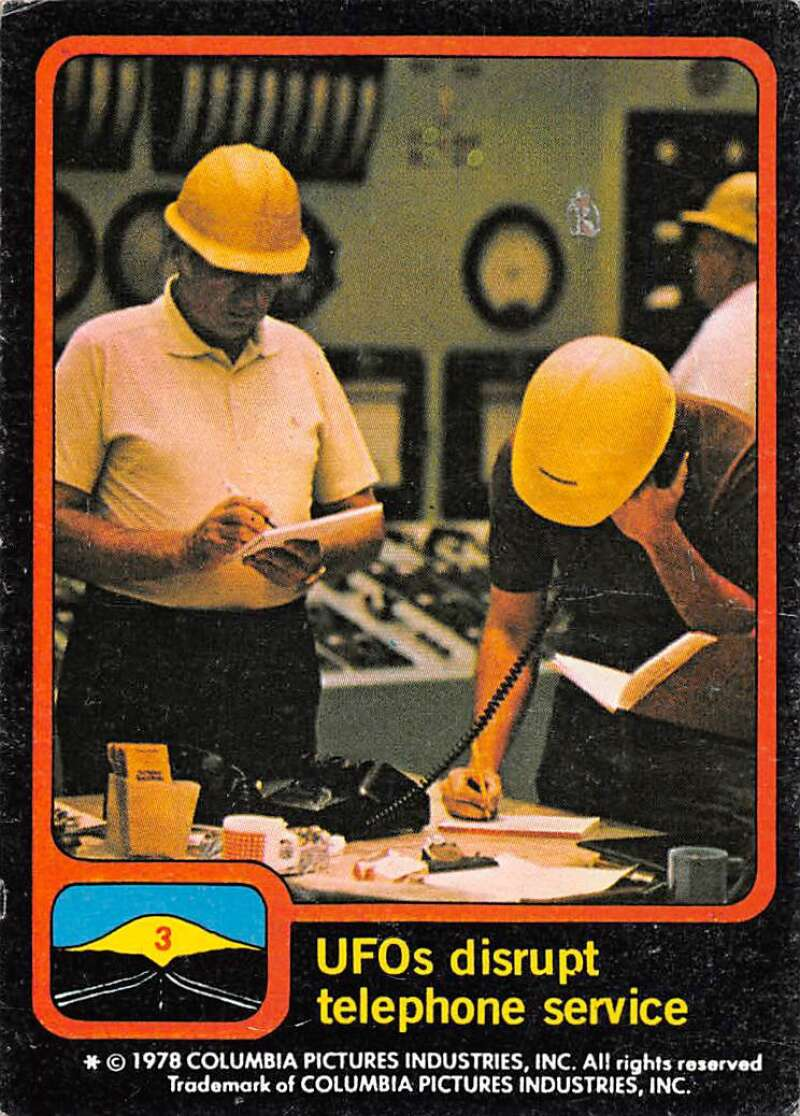 1978 Topps Close Encounters of the 3rd Kind