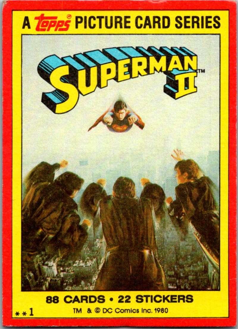 1980 Topps Superman II