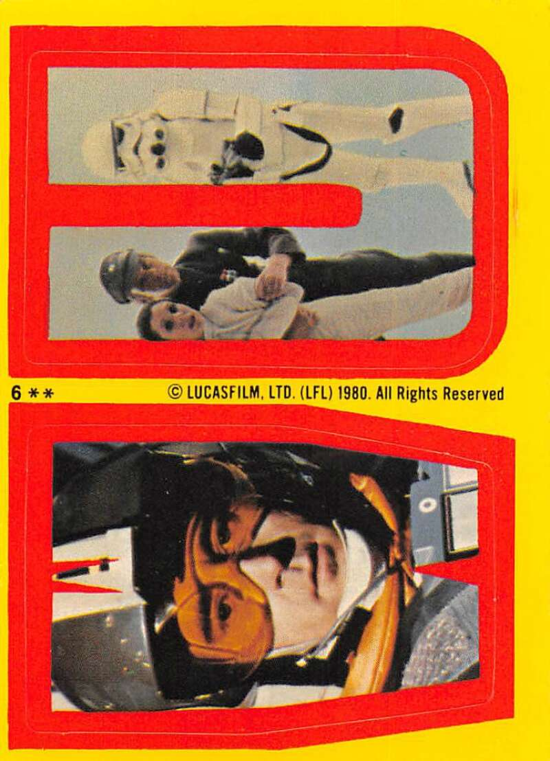 1980 Topps The Empire Strikes Back Stickers