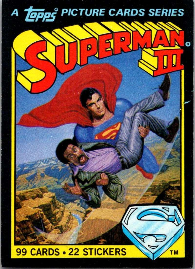 1983 Topps Superman III