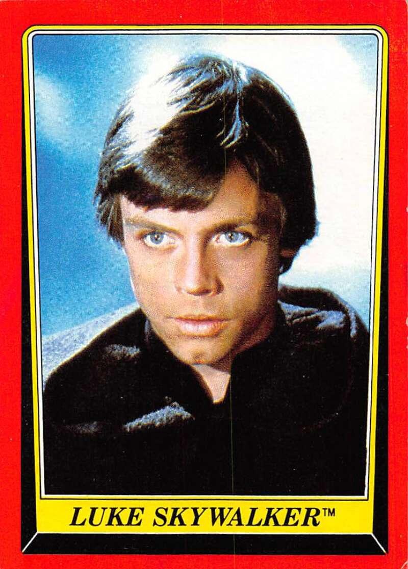 1983 Topps Star Wars Return Of The Jedi