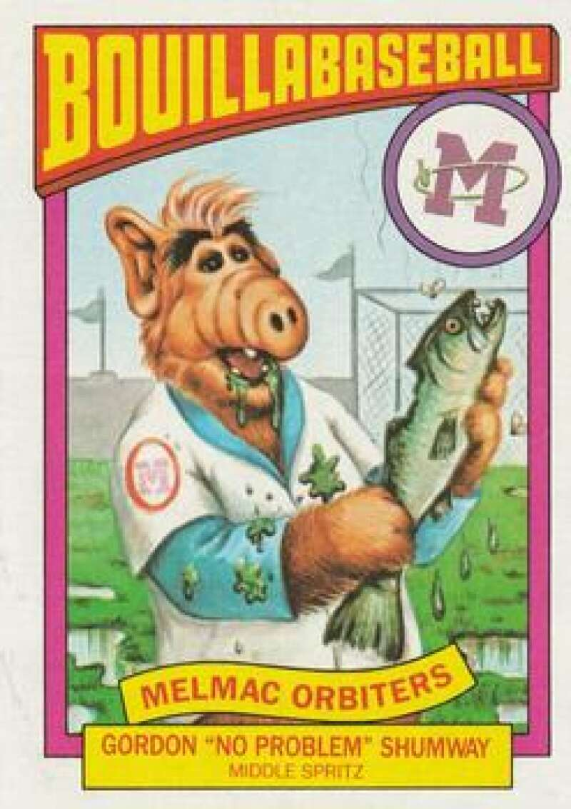 1987 Topps Alf Bouillabaseball