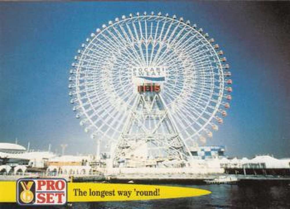 1992 Pro Set Guinness Book Of Records