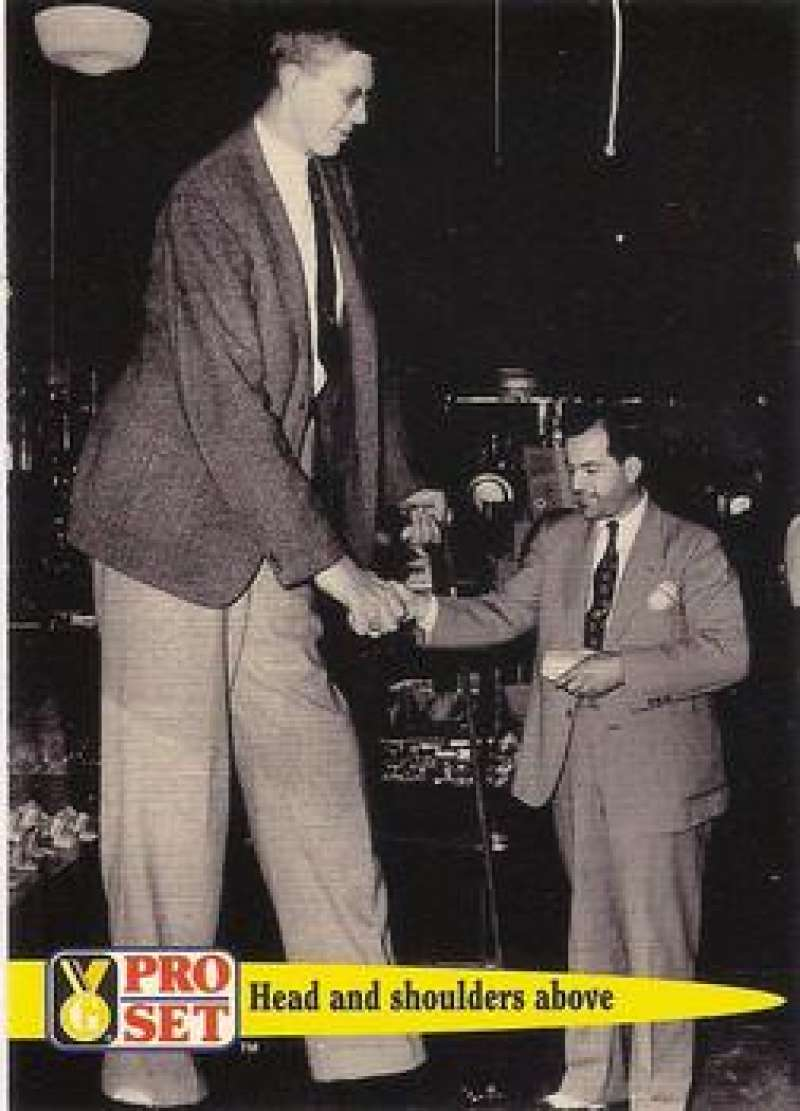 1992 Pro Set Guinness Book Of Records Robert Pershing Wadlow