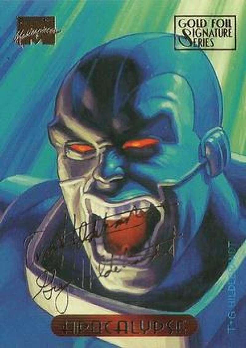 1994 Fleer Marvel Masterpieces Hildebrandt Brothers Gold Foil Signature