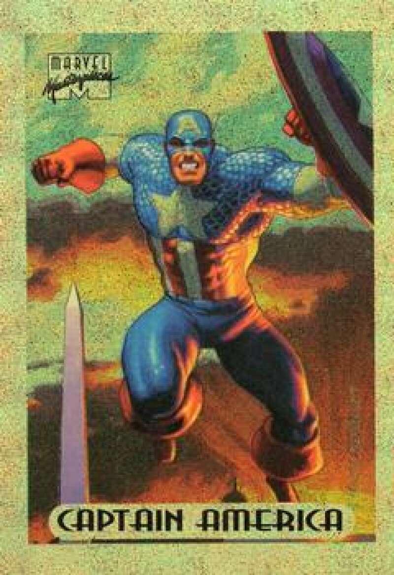 1994 Fleer Marvel Masterpieces Hildebrandt Brothers Gold Holofoils