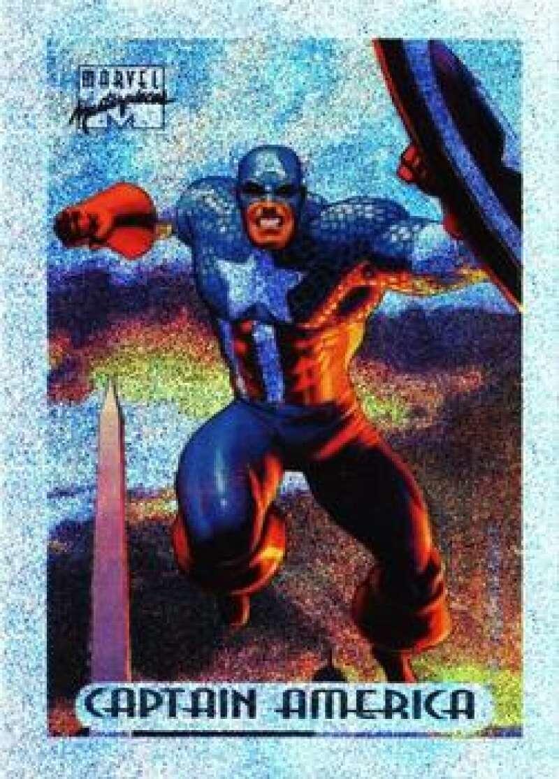 1994 Fleer Marvel Masterpieces Hildebrandt Brothers Silver Holofoils
