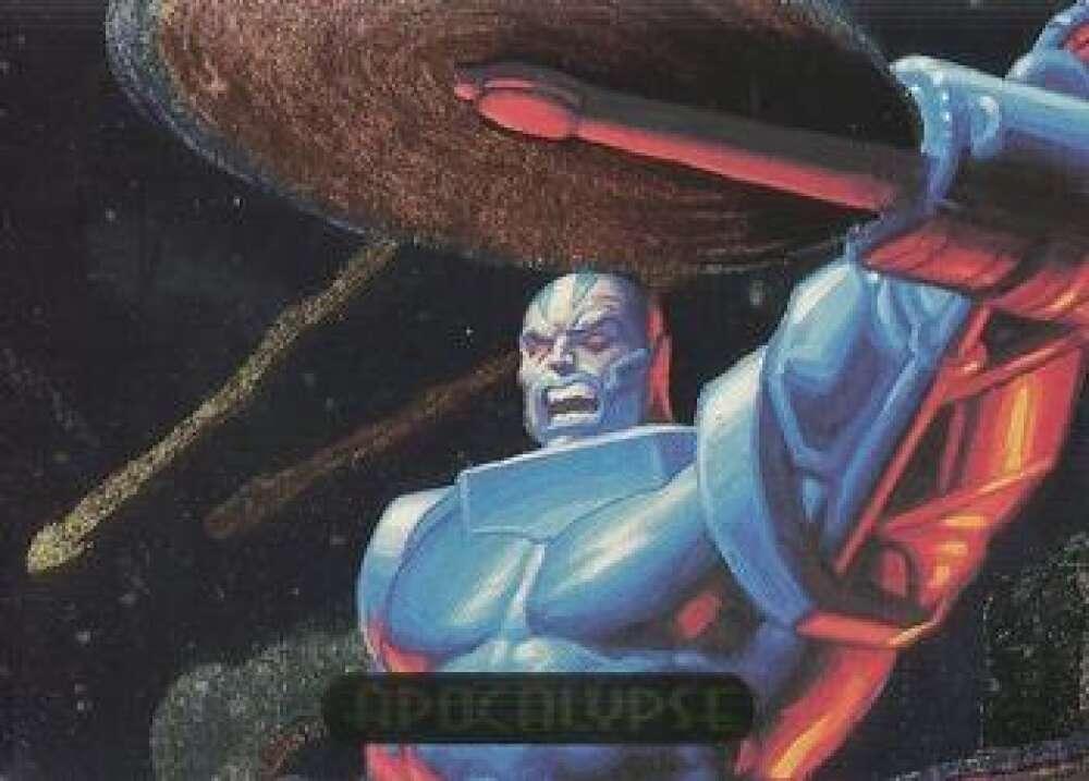 1994 Fleer Marvel Masterpieces Hildebrandt Brothers PowerBlast