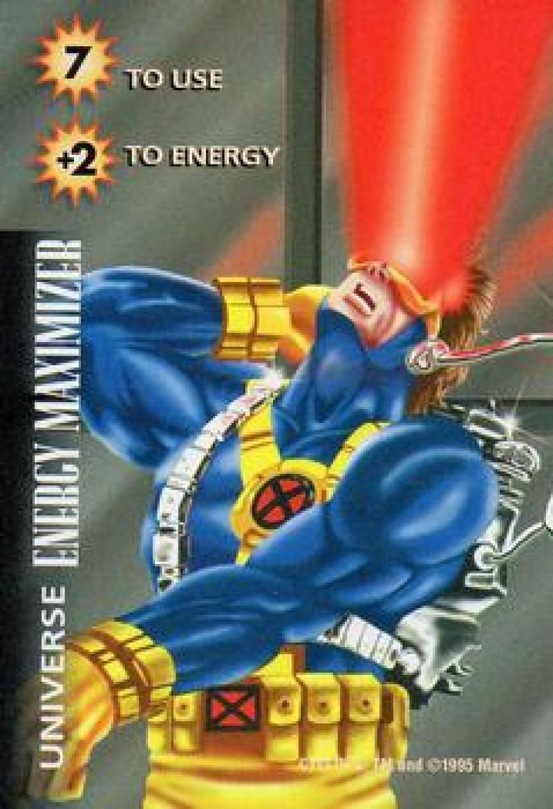 1995 Fleer Marvel Overpower
