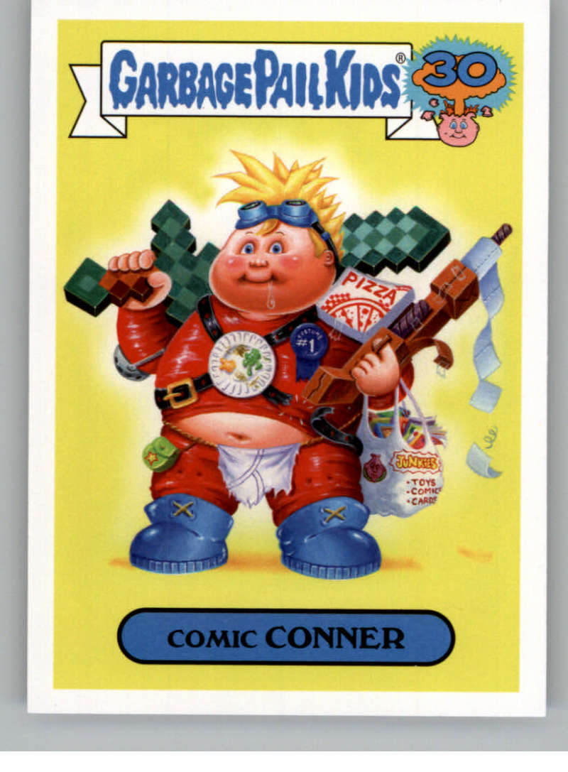 2015 Topps Garbage Pail Kids Comic Book Covers