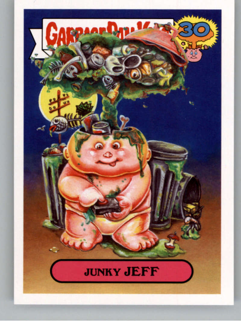2015 Topps Garbage Pail Kids Don't Push My Button