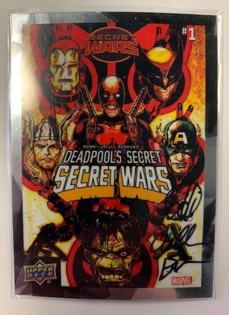 2015 Upper Deck Marvel Vibranium Dual Comic Autographs
