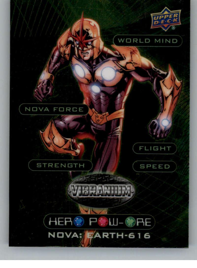 2015 Upper Deck Marvel Vibranium Hero Pow-Ore