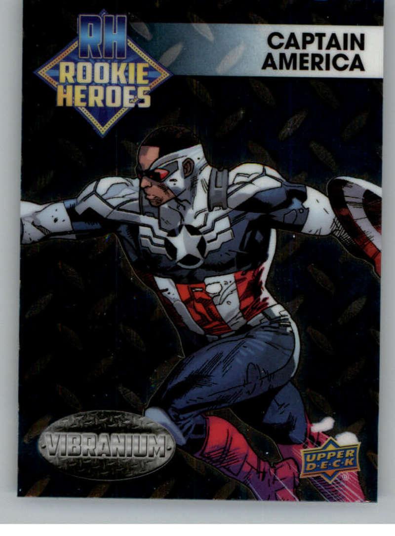 2015 Upper Deck Marvel Vibranium Rookie Heroes