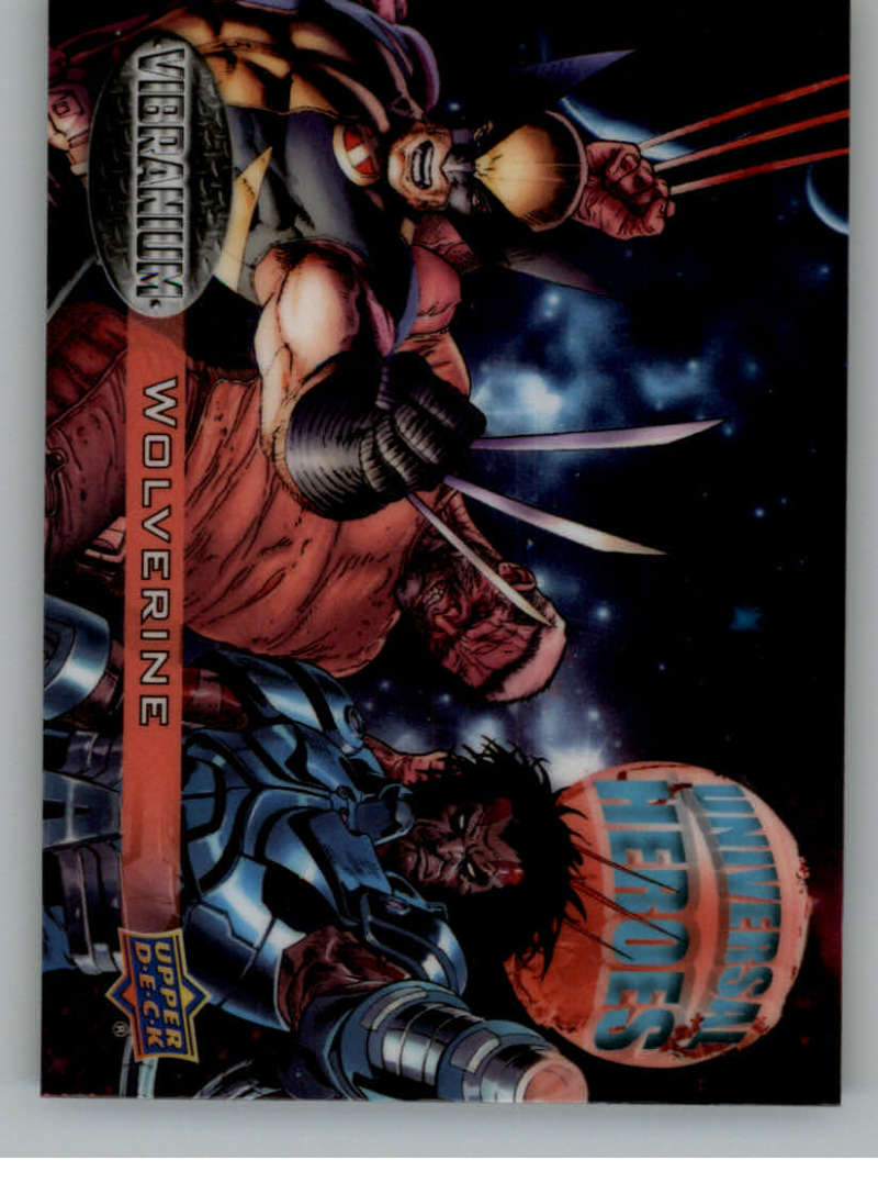 2015 Upper Deck Marvel Vibranium Universal Heroes