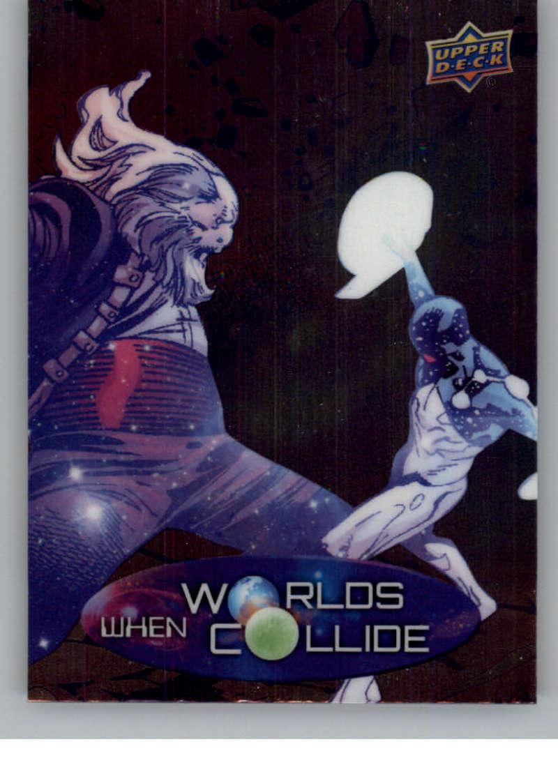 2015 Upper Deck Marvel Vibranium When Worlds Collide