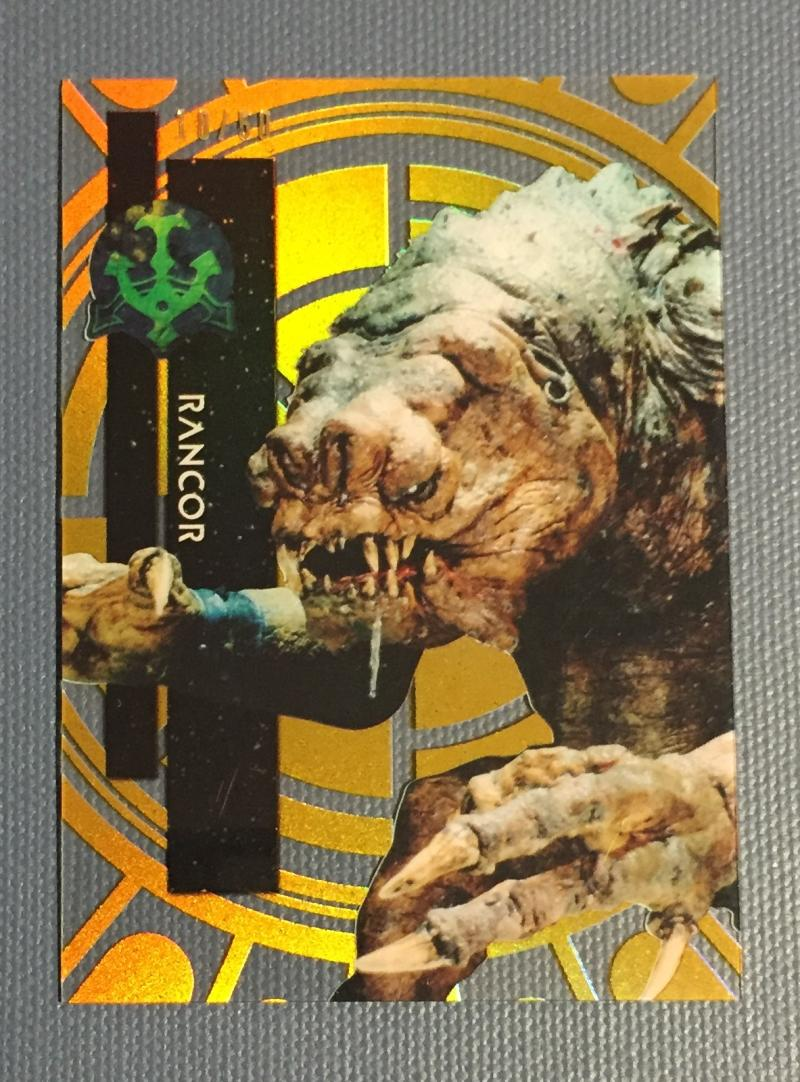 2015 Topps Star Wars High Tek Gold Rainbow