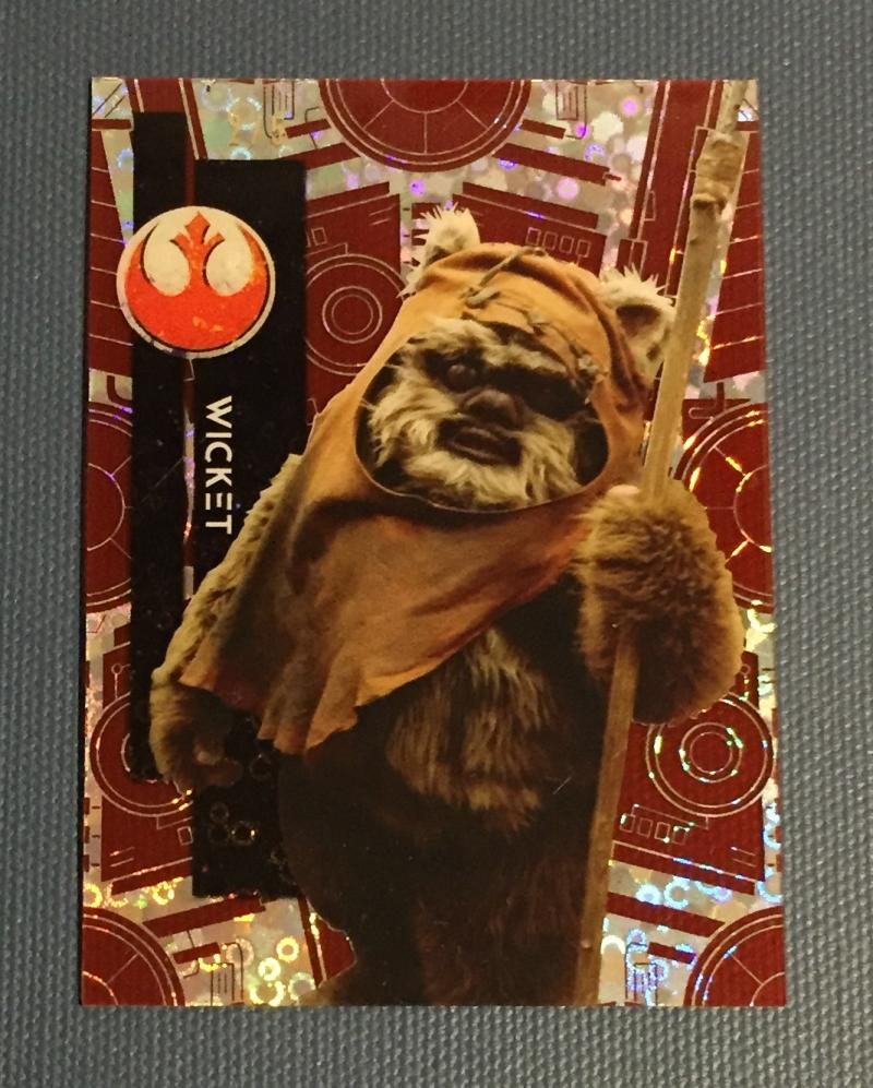 2015 Topps Star Wars High Tek Red Orbit Diffractor