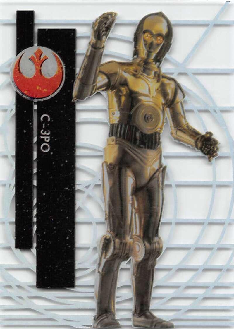 2015 Topps Star Wars High Tek Rebel Alliance Pattern