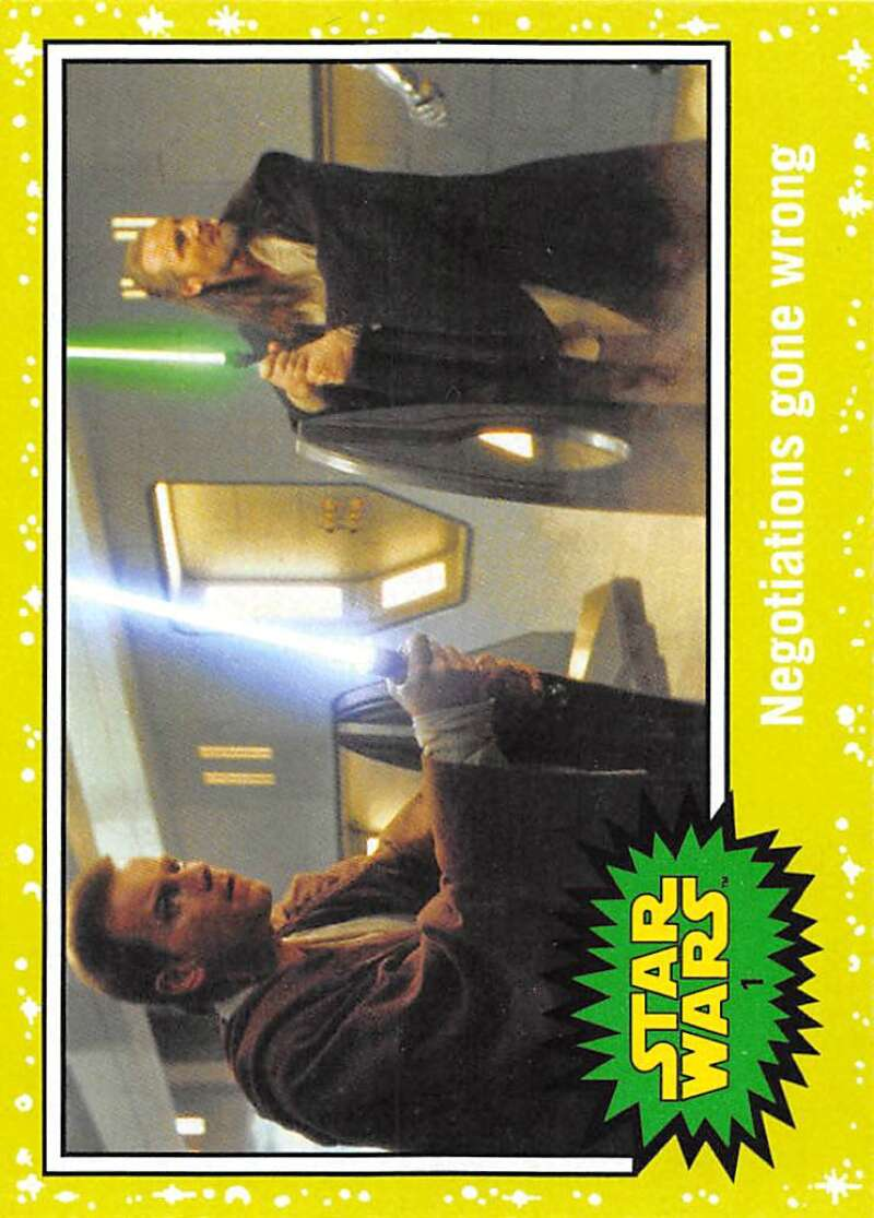 2015 Topps Star Wars Journey to the Force Awakens Green Slime