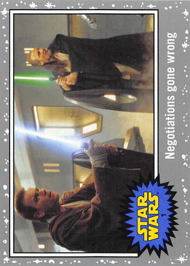 2015 Topps Star Wars Journey to the Force Awakens Silver