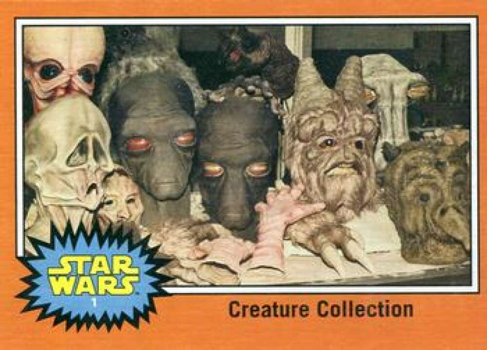2015 Topps Star Wars Journey to the Force Awakens Behind the Scenes