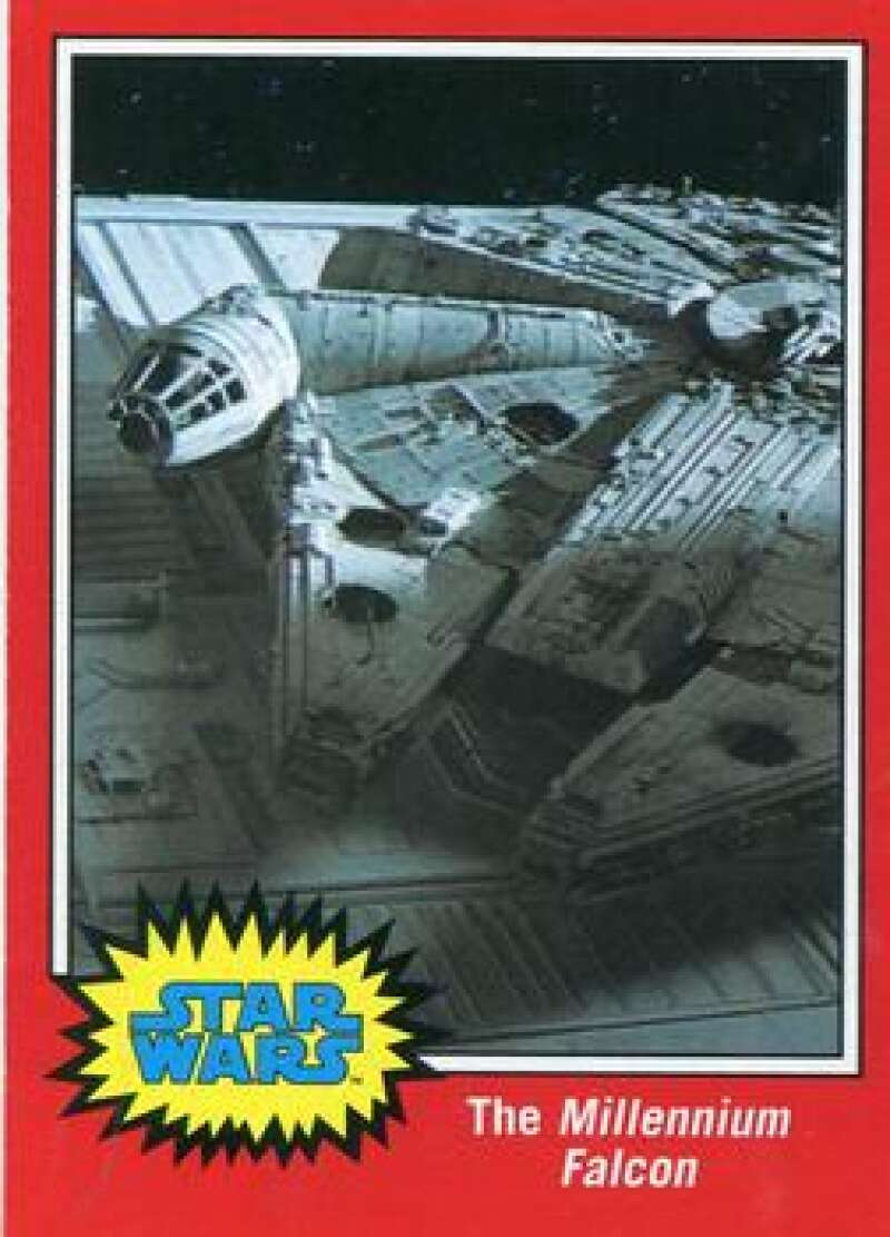 2015 Topps Star Wars Journey to the Force Awakens Classic Captions