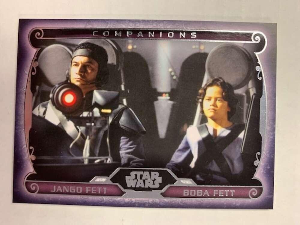 2015 Topps Star Wars Masterworks Companions