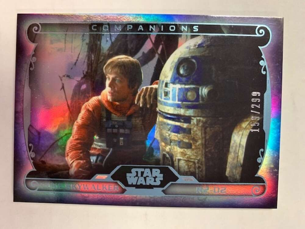 2015 Topps Star Wars Masterworks Companions Rainbow Foil