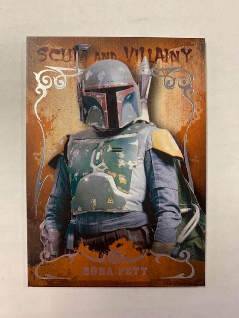 2015 Topps Star Wars Masterworks Scum and Villainy