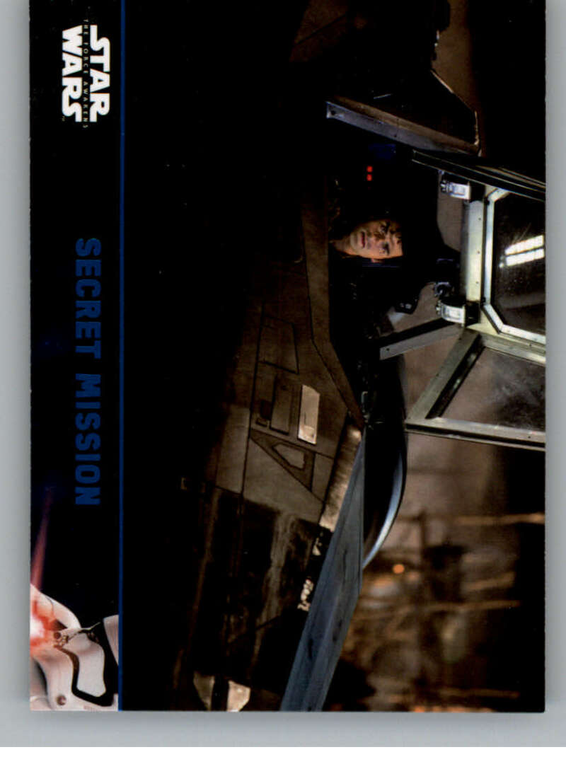 2016 Topps Star Wars Force Awakens Blue
