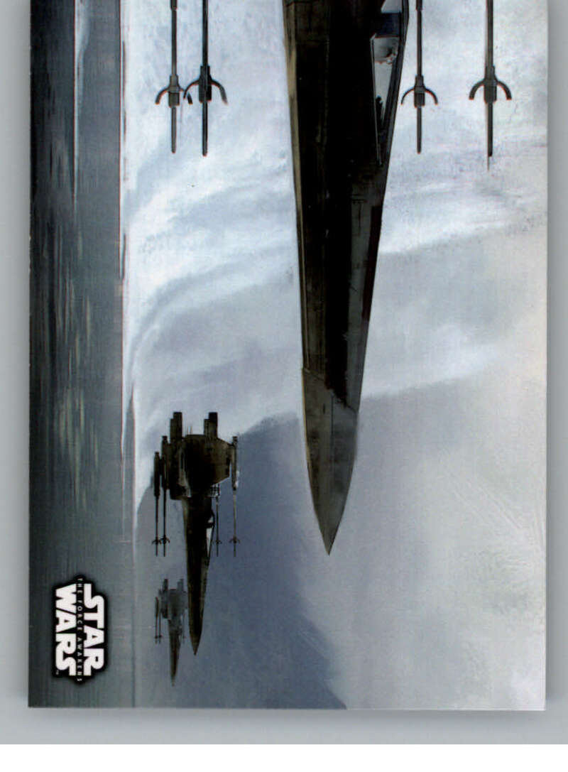 2016 Topps Star Wars Force Awakens Concept Art