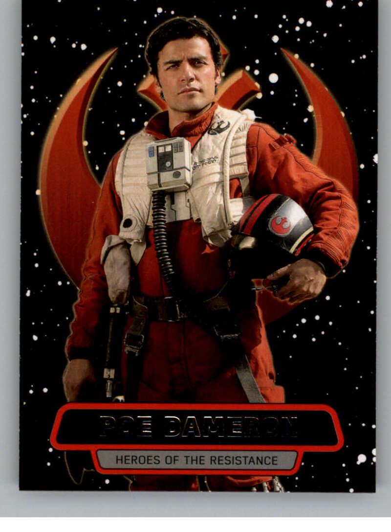 2016 Topps Star Wars Force Awakens Heroes of the Resistance