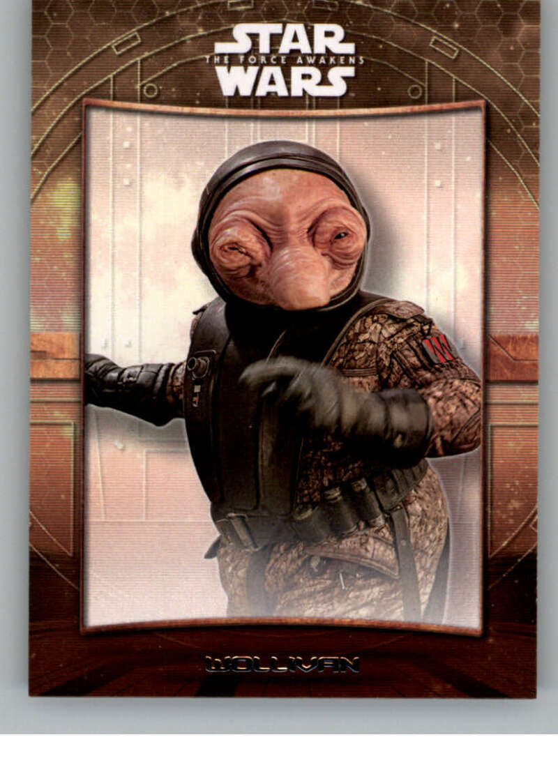 2016 Topps Star Wars Force Awakens Maz's Castle