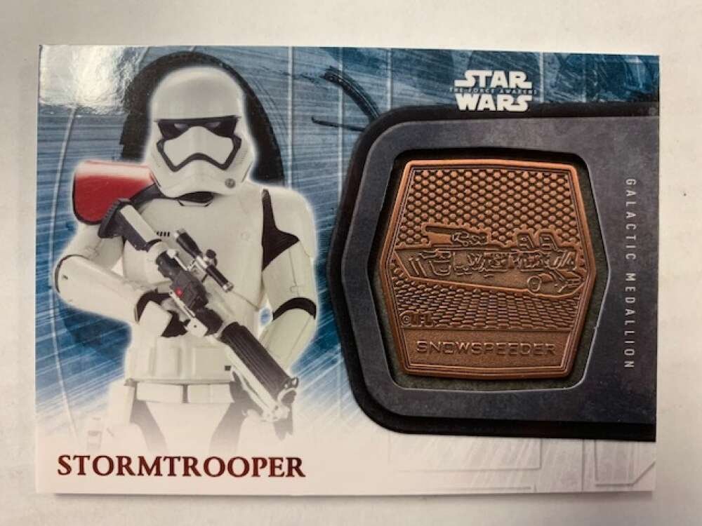 2016 Topps Star Wars Force Awakens Medallions