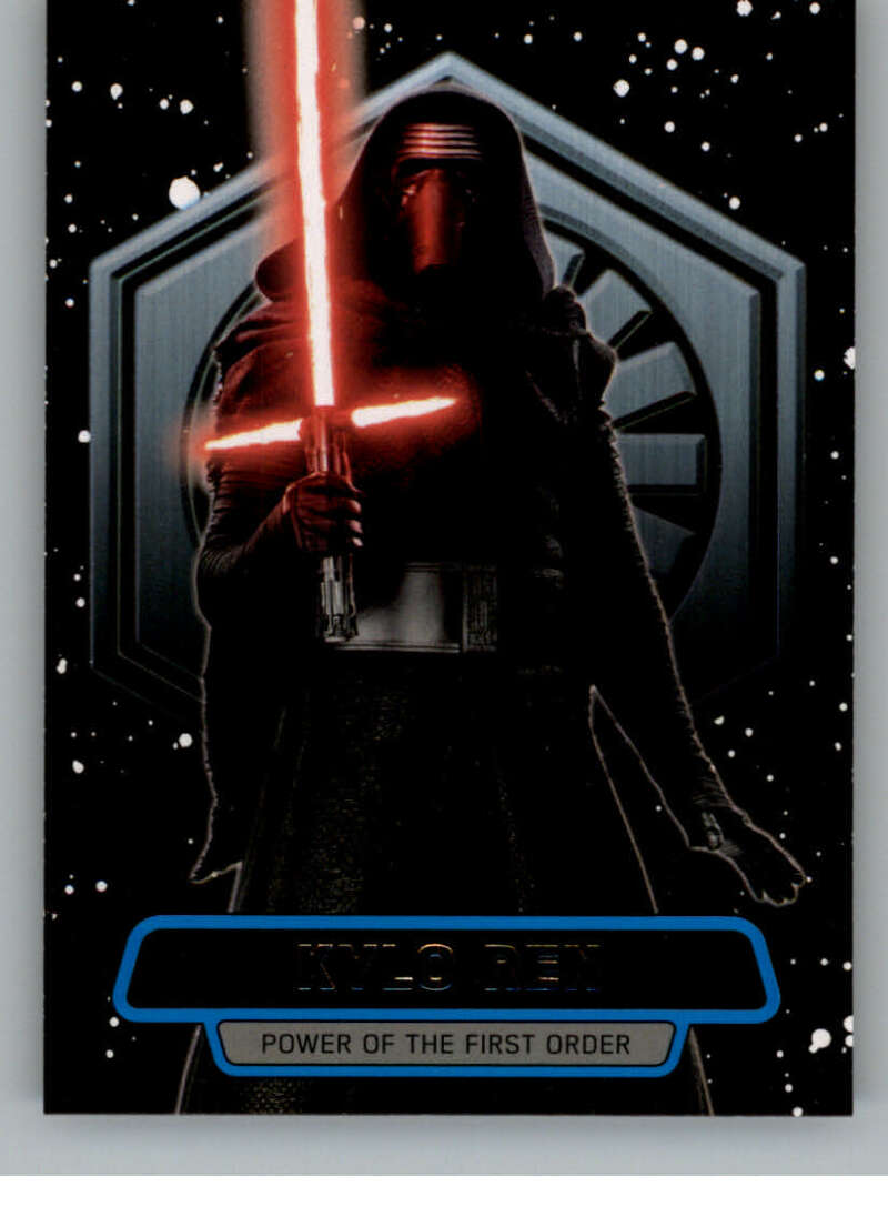 2016 Topps Star Wars Force Awakens Power of the First Order