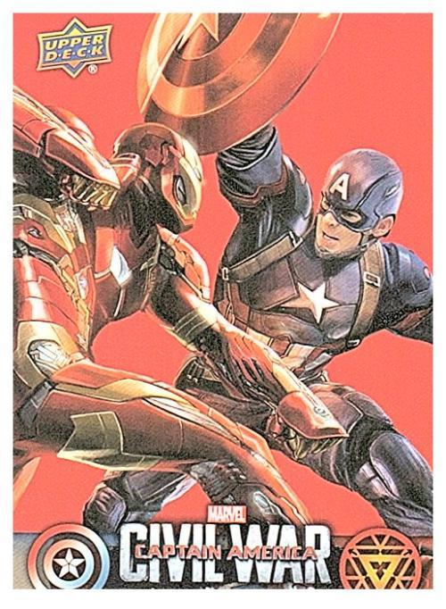 2016 Upper Deck Captain America Civil War Retail