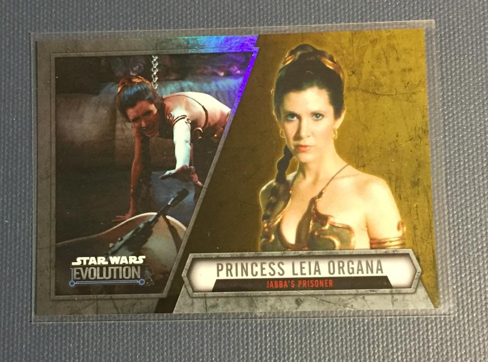 2016 Topps Star Wars Evolution Gold