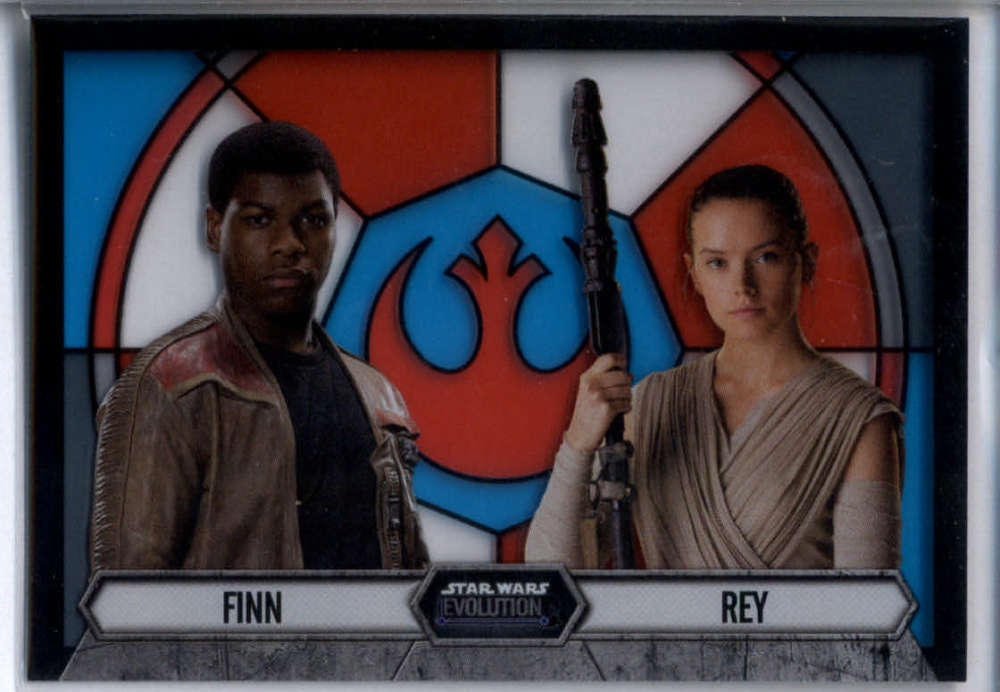 2016 Topps Star Wars Evolution Stained Glass Pairings