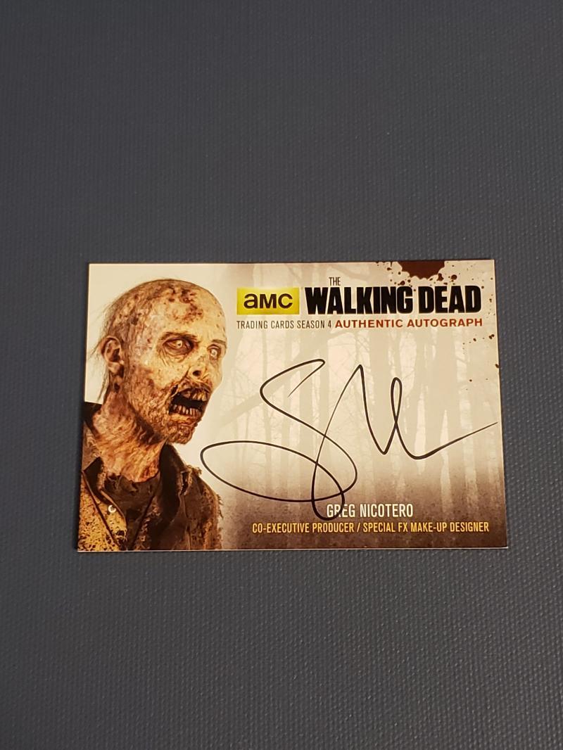 2016 Cryptozoic Walking Dead Season 4 Part 1 Autographs Black Foil
