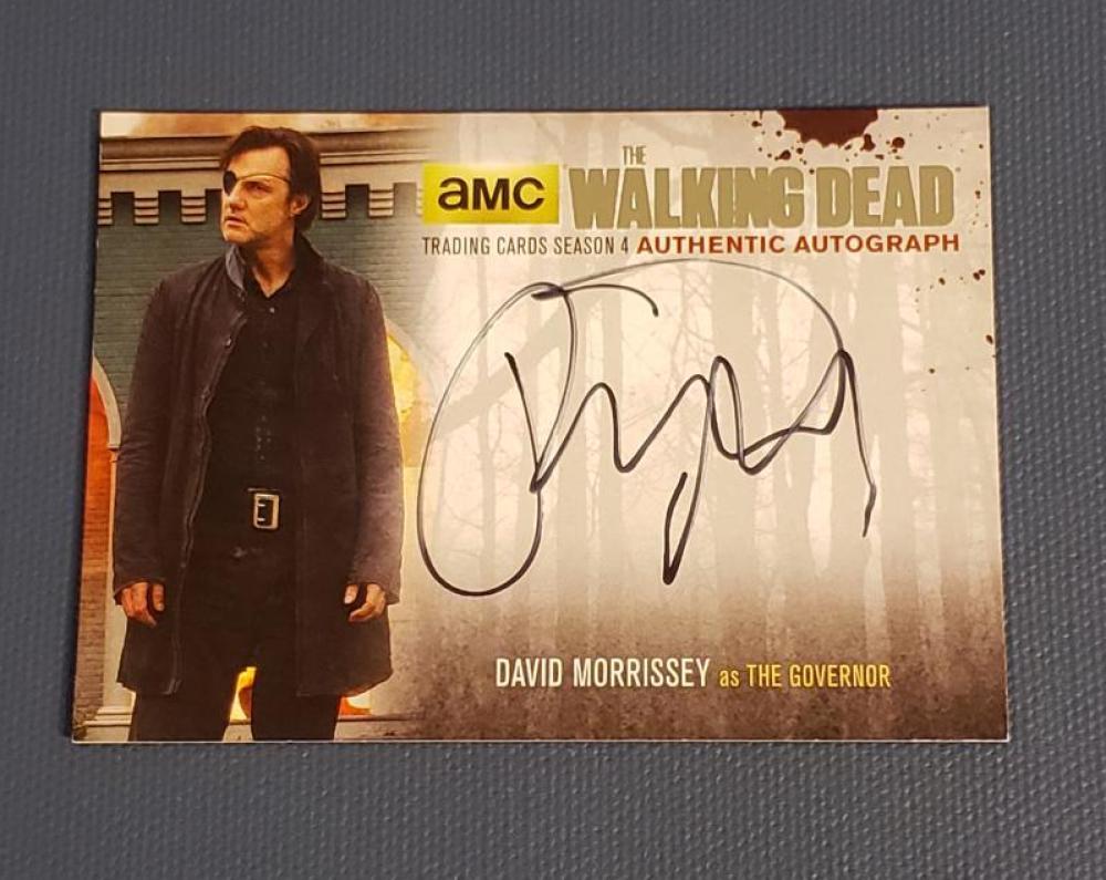 2016 Cryptozoic Walking Dead Season 4 Part 1 Autographs Silver Foil