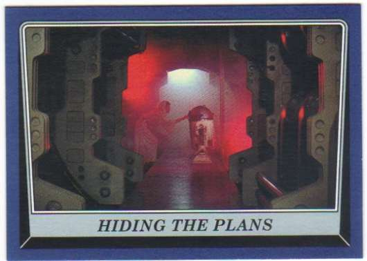 2016 Topps Star Wars Rogue One Mission Briefing Blue #23 Hiding the Plans