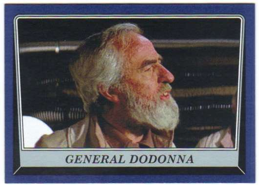 2016 Topps Star Wars Rogue One Mission Briefing Blue #100 General Dodonna