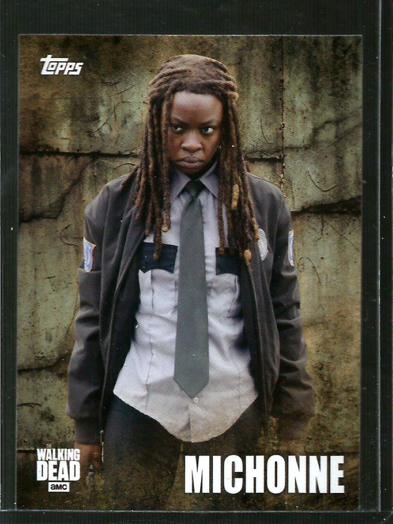 2016 Topps Walking Dead Season 5 Character Profiles