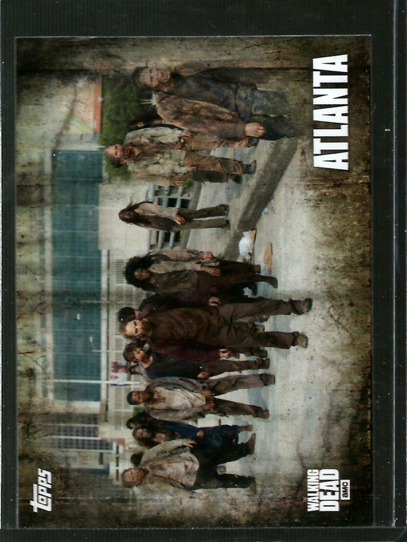 2016 Topps Walking Dead Season 5 Locations