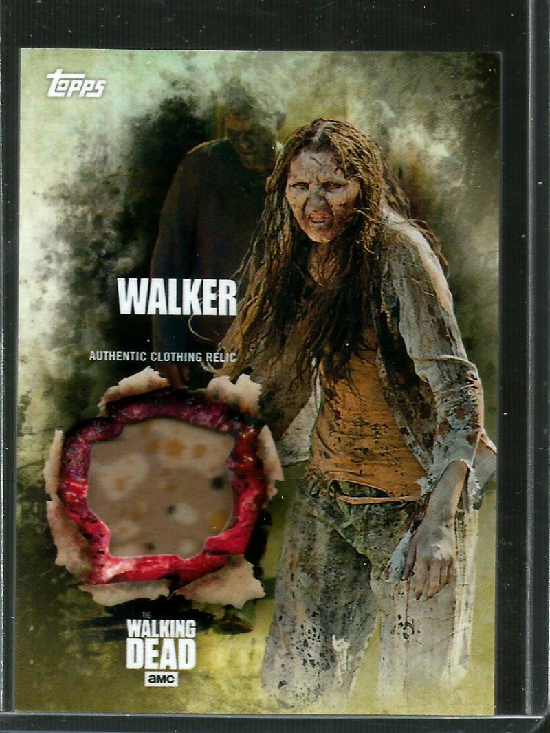 2016 Topps Walking Dead Season 5 Relic Cards