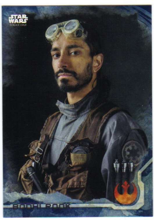 2016 Topps Star Wars Rogue One Blue Squadron #4 Bodhi Rook