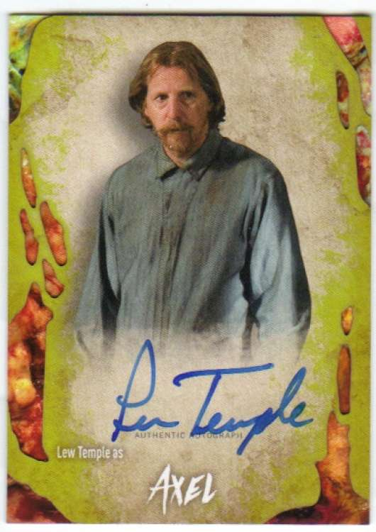 2016 Topps Walking Dead Survival Box Autographs Infected