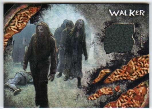 2016 Topps Walking Dead Survival Box Relics Maggots